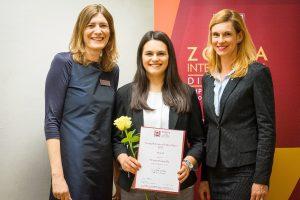 Patricia-Viviana Ilie gewinnt den ZONTA-Award