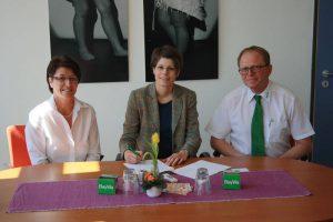 Kooperationsvertrag Staatliche Realschule Landshut - BayWa