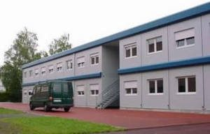 Container an der Realschule